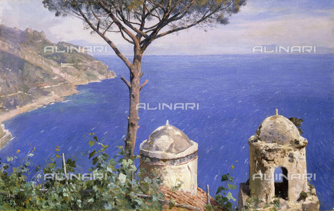 ATK-F-037573-0000 - Ravello. 1926,Moensted,Peder,1859-1941,Oil/Canvas,20th century - Christie's Images / Artothek/Alinari Archives