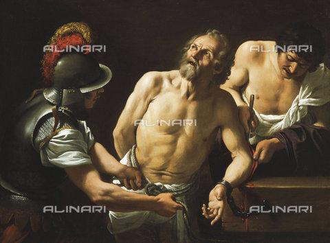 ATK-F-037588-0000 - The Martyrdom of Saint Bartholomew.,Badalocchio,Sisto,1581(?)-1647,Oil/Canvas,17th century,Baroque - Christie's Images / Artothek/Alinari Archives