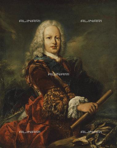 ATK-F-037590-0000 - Portrait of King Ferdinand VI of Spain (1713-1759).,Öl/Lwd. auf Holz,Guardi,Giovanni Antoni,1699-1760,18th century,Portrait - Christie's Images / Artothek/Alinari Archives