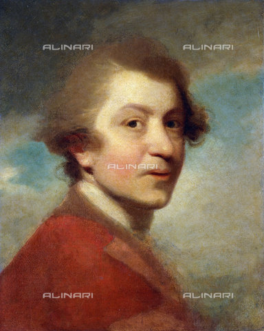 ATK-F-037828-0000 - Portrait of the Artist, Head and Shoulders, in a Red Gown of a Doctor of Laws and White Stock (unfinished).,Reynolds,Sir Joshua,1723-1792,Oil/Canvas,18th century,Portrait - Christie's Images / Artothek/Alinari Archives