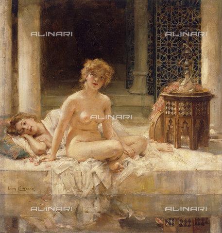 ATK-F-037843-0000 - After the Bath.,Oil/Canvas,Comerre,Leon Francois,1850-1916 - Christie's Images / Artothek/Alinari Archives