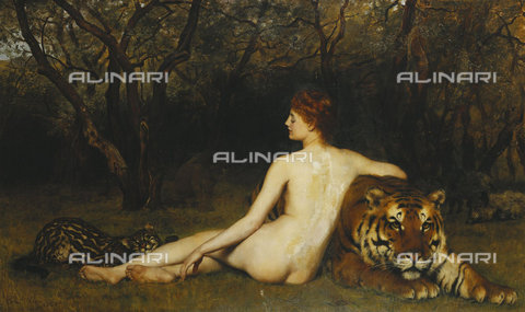 ATK-F-037844-0000 - Circe. 1885,Collier,John,1850-1934,Oil/Canvas,19th century - Christie's Images / Artothek/Alinari Archives