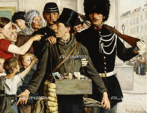 ATK-F-037860-0000 - The Arrest. 1882,Oil/Canvas,19th century,Lambeaux,Jules,1858-1890 - Christie's Images / Artothek/Alinari Archives