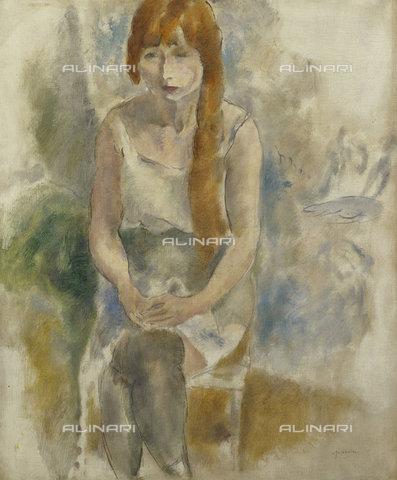 ATK-F-037871-0000 - Model Sitting.,Pascin,Jules,1885-1930,Oil/Canvas,20th century - Christie's Images / Artothek/Alinari Archives