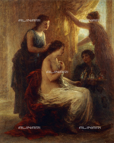 ATK-F-037877-0000 - La Toilette.,19th century,Oil/Canvas,Fantin-Latour,Henri de,1836-1904 - Christie's Images / Artothek/Alinari Archives