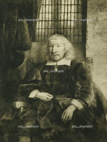 ATK-F-037892-0000 - Thomas Haaringh ('Old Haaringh'). Ca. 1655,Portrait,17th century,Drypoint,1606-1669,Rembrandt van Rijn - Christie's Images / Artothek/Alinari Archives