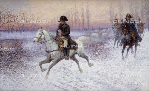 ATK-F-037896-0000 - Napoleon at the Head of a Troop of Cavalry.,19th century,20th century,Oil/Canvas,1851-1925,Chelminski,Jan van - Christie's Images / Artothek/Alinari Archives