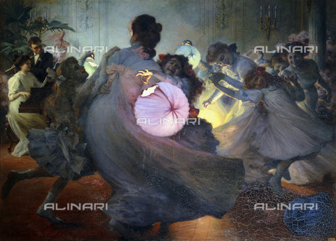 ATK-F-037897-0000 - The whirlwind (Tourbillon). 1911,Oil/Canvas,20th century,Tessier,Louis Adolphe,1858-1915 - Christie's Images / Artothek/Alinari Archives