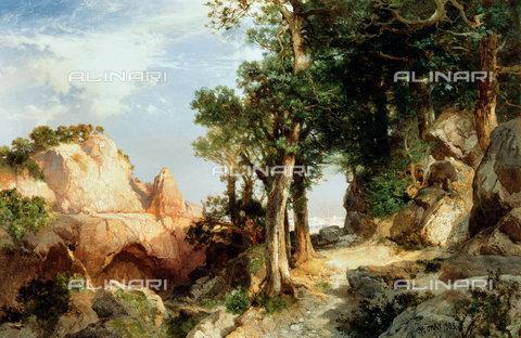 ATK-F-038519-0000 - On the Berry Trail - Grand Canyon of Arizona. 1903,Moran,Thomas,1837-1926,oil/canvas,19th century,20th century,landscape - Christie's Images / Artothek/Alinari Archives