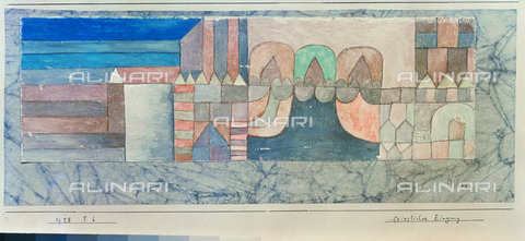 ATK-F-044980-0000 - Solemn entrance (Feierlicher Eingang). 1928, F. 6,Klee,Paul,1879-1940,20th century - Artothek/Alinari Archives, Hans Hinz