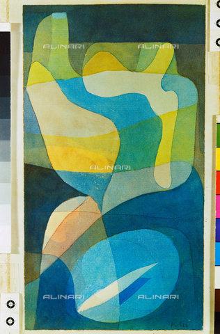 ATK-F-044981-0000 - Lichtbreitung. 1929, 242,Klee,Paul,1879-1940,Watercolour on Paper,20th century - Artothek/Alinari Archives, Hans Hinz