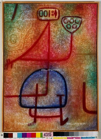 ATK-F-044984-0000 - La belle jardiniere (The beautiful gardener). 1939, 1237,Klee,Paul,1879-1940,Bern,Zentrum Paul Klee,à–l/Tempera auf Jute,20th century,on stretcher frame - Artothek/Alinari Archives, Hans Hinz