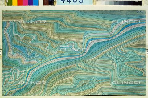 ATK-F-045111-0000 - White water (Wildwasser). 1934, 16,Klee,Paul,1879-1940,20th century - Artothek/Alinari Archives, Hans Hinz
