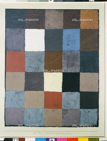 ATK-F-045124-0000 - Table of colours (on grey) (Farbtafel (auf maiorem Grau)). 1930, 83,Klee,Paul,1879-1940,Bern,Zentrum Paul Klee,20th century,Pastel with glue,on paper on cardboard - Artothek/Alinari Archives, Hans Hinz