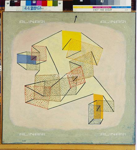 ATK-F-045127-0000 - Pending (Schwebendes). 1930, 220,Klee,Paul,1879-1940,Bern,Zentrum Paul Klee,20th century,Oil paint,partially stamped on canvas on stretcher frame - Artothek/Alinari Archives, Hans Hinz