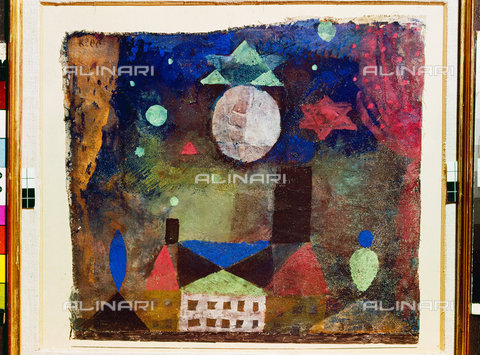 ATK-F-045128-0000 - Stern à¼ber bà¶sen Hà¤usern.,Klee,Paul,1879-1940,20th century - Artothek/Alinari Archives, Hans Hinz