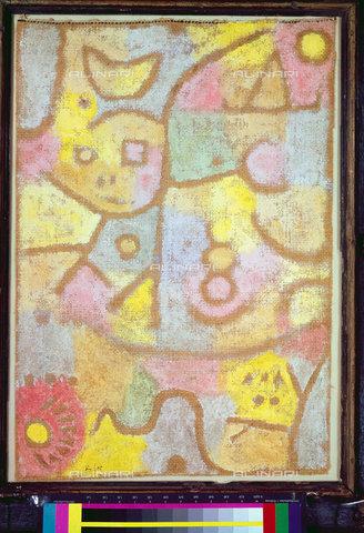 ATK-F-045130-0000 - In the flower garden (Im Blumengarten). 1939,Klee,Paul,1879-1940,Bern,Zentrum Paul Klee,20th century - Artothek/Alinari Archives, Hans Hinz