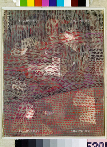 ATK-F-045138-0000 - Reflexe im Dunklen. 1932, 8,Klee,Paul,1879-1940,Stuttgart,Staatsgalerie,Aquarell/Papier auf Karton,Graphische Sammlung - Artothek/Alinari Archives, Hans Hinz