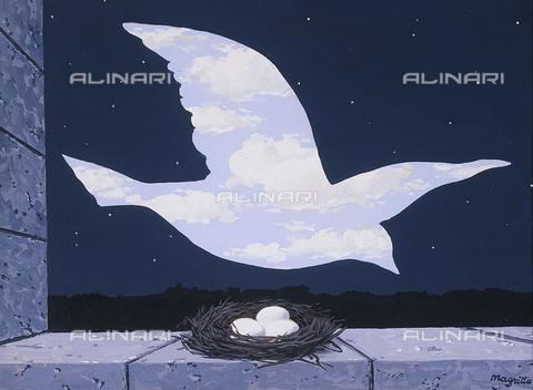 ATK-F-045264-0000 - The Return (Le Retour), gouache on paper, René Magritte (1898-1967) - Christie's Images Ltd / Artothek/Alinari Archives