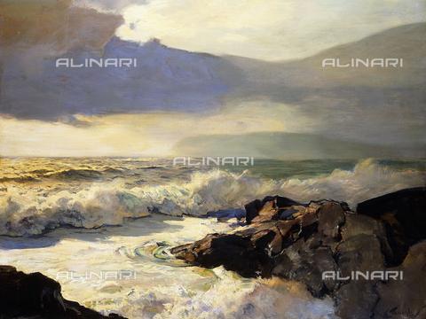 ATK-F-053370-0000 - Rain and Sea Clouds, oil on masonite, Frederick Judd Waugh (1861-1940) - Christie's Images Ltd / Artothek/Alinari Archives
