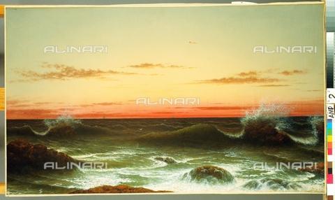 ATK-F-056334-0000 - Sunset, oil on canvas, Martin Johnson Heade (1819-1904) - Christie's Images Ltd / Artothek/Alinari Archives