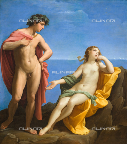 ATK-F-063151-0000 - Bacchus and Ariadne, oil on canvas, Guido Reni (1575-1642), County Museum of Art, Los Angeles - Artothek/Alinari Archives