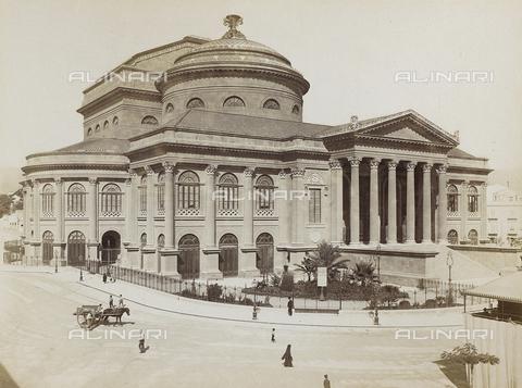 AVQ-A-000013-0046 - Il Teatro Massimo a Palermo - Data dello scatto: 1890 ca. - Raccolte Museali Fratelli Alinari (RMFA), Firenze