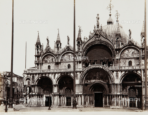 AVQ-A-000039-0004 - The Basilica of San Marco in Venice - Data dello scatto: 1870 ca. - Archivi Alinari, Firenze