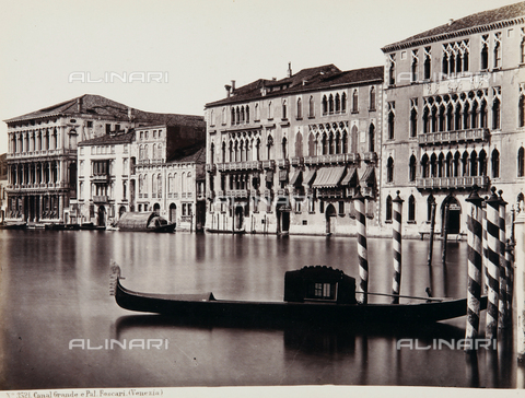 AVQ-A-000039-0009 - Ca 'Foscari on the Grand Canal, Venice - Data dello scatto: 1870 ca. - Archivi Alinari, Firenze