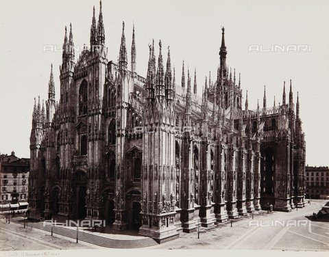 AVQ-A-000039-0014 - The Cathedral of Milan - Data dello scatto: 1870 ca. - Archivi Alinari, Firenze