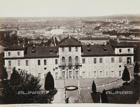 AVQ-A-000039-0018 - Overview of Villa Regina in Turin - Data dello scatto: 1870 ca. - Archivi Alinari, Firenze