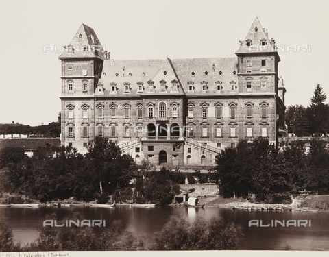 AVQ-A-000039-0020 - The Valentino Castle, Turin - Data dello scatto: 1870 ca. - Archivi Alinari, Firenze