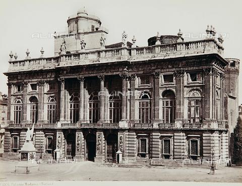 AVQ-A-000039-0022 - Palazzo Madama in Turin - Data dello scatto: 1870 ca. - Archivi Alinari, Firenze