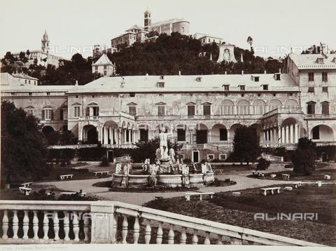 AVQ-A-000039-0025 - Palazzo Doria Pamphilj in Genoa - Data dello scatto: 1870 ca. - Archivi Alinari, Firenze