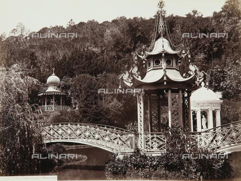 AVQ-A-000039-0027 - The park of Villa Durazzo Pallavicini, Pegli, Genoa - Data dello scatto: 1870 ca. - Archivi Alinari, Firenze