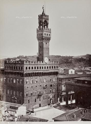 AVQ-A-000039-0031 - Palazzo Vecchio, Florence - Data dello scatto: 1870 ca. - Archivi Alinari, Firenze