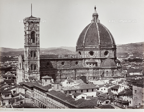 AVQ-A-000039-0036 - Cathedral of Florence - Data dello scatto: 1870 ca. - Archivi Alinari, Firenze