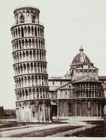 AVQ-A-000039-0042 - The Leaning Tower of Pisa - Data dello scatto: 1870 ca. - Archivi Alinari, Firenze
