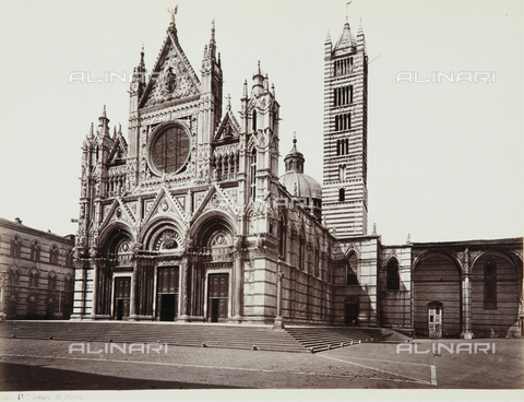 AVQ-A-000039-0046 - The Cathedral of Siena - Data dello scatto: 1870 ca. - Archivi Alinari, Firenze