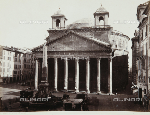 AVQ-A-000039-0054 - The Pantheon, Rome - Data dello scatto: 1870 ca. - Archivi Alinari, Firenze