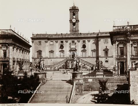 AVQ-A-000039-0056 - The Campidoglio, Rome - Data dello scatto: 1875 ca. - Archivi Alinari, Firenze