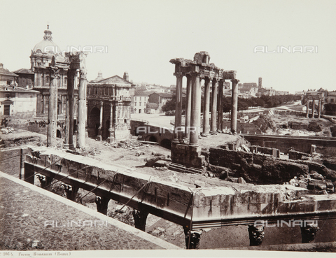 AVQ-A-000039-0057 - The Roman Forum, Rome - Data dello scatto: 1870 ca. - Archivi Alinari, Firenze