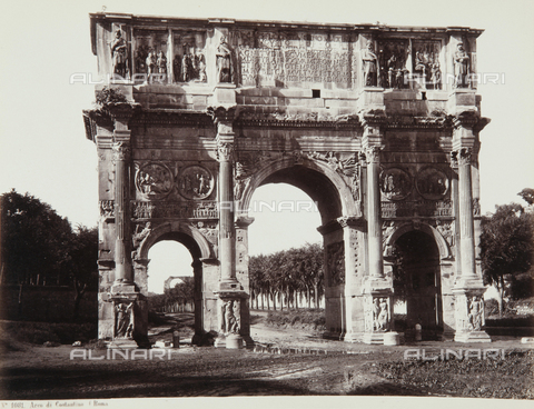 AVQ-A-000039-0060 - The Arch of Constantine in Rome - Data dello scatto: 1870 ca. - Archivi Alinari, Firenze