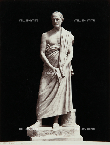 AVQ-A-000039-0069 - Demosthenes, The Chiaramonti Museum, Vatican Museum, Vatican City - Data dello scatto: 1870 ca. - Archivi Alinari, Firenze