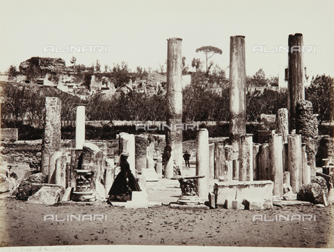 AVQ-A-000039-0082 - The Temple of Serapis in Pozzuoli, Naples - Data dello scatto: 1870 ca. - Archivi Alinari, Firenze
