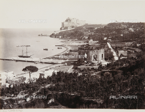 AVQ-A-000039-0083 - The Aragonese Castle of Baia - Data dello scatto: 1870 ca. - Archivi Alinari, Firenze