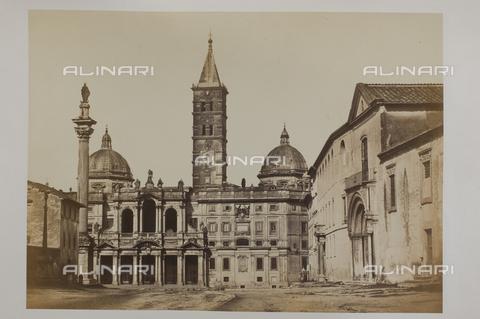 AVQ-A-000073-0014 - La basilica di S.Maria Maggiore a Roma - Data dello scatto: 1855 ca. - Raccolte Museali Fratelli Alinari (RMFA), Firenze