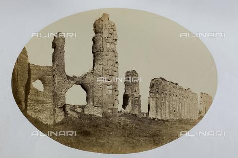AVQ-A-000073-0019 - Acquedotto Claudio, Roma - Data dello scatto: 1857 - Raccolte Museali Fratelli Alinari (RMFA), Firenze
