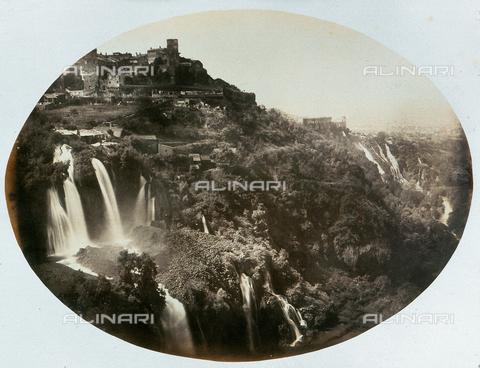 AVQ-A-000073-0026 - Cascate di Tivoli - Data dello scatto: 1860 - Raccolte Museali Fratelli Alinari (RMFA), Firenze