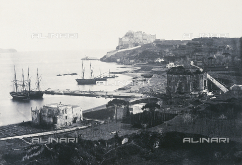 AVQ-A-000075-0003 - The castle of Diana at Baja, near Naples - Data dello scatto: 1860 ca. - Archivi Alinari, Firenze